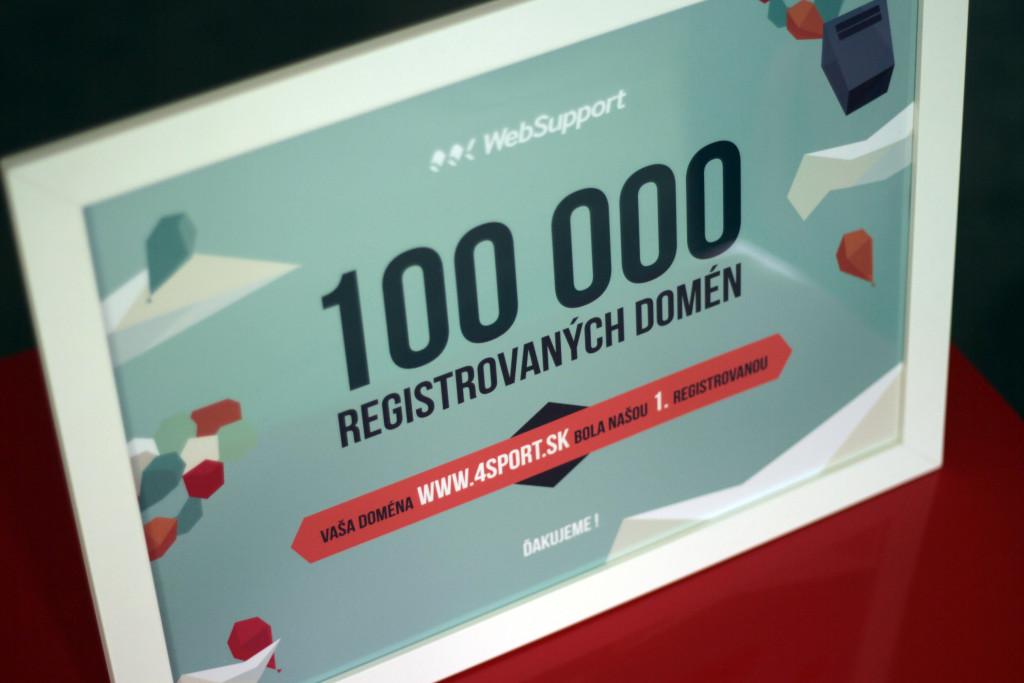 100 000 domen