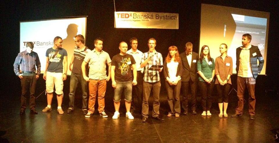 Posádka TEDxBB :)