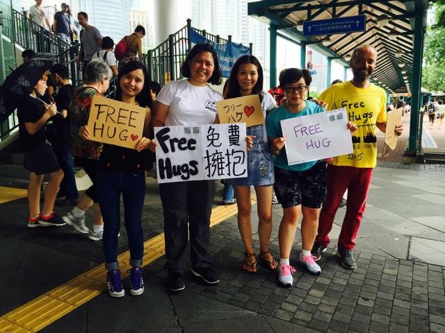 Deň objatí Hong Kong 2