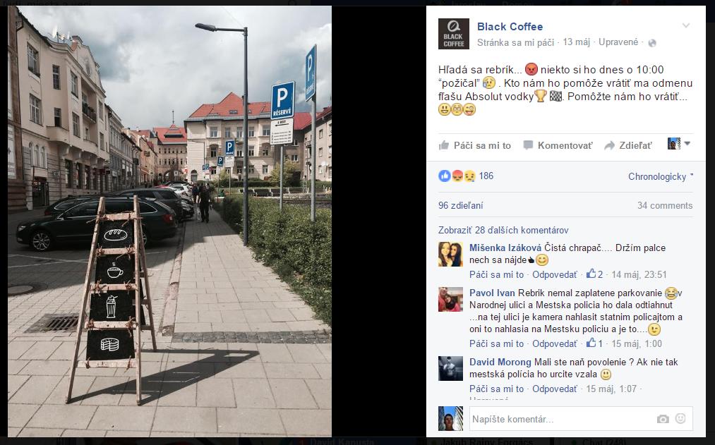 black coffee banska bystrica