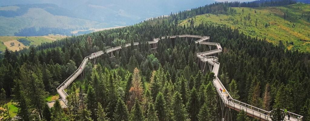 chodnik korunami stromov bachledova dolina turistika jaroslav dodok