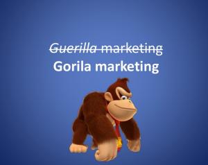 gorila marketing