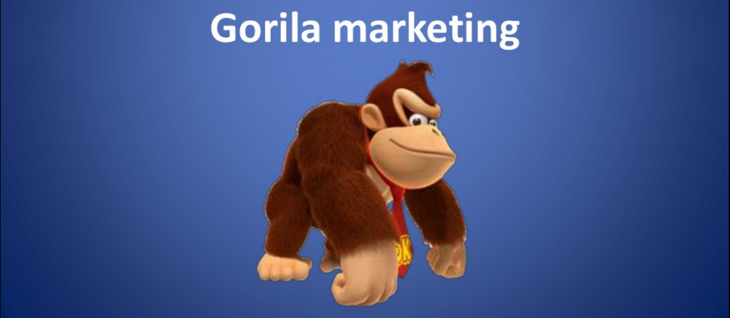 gorila marketing slide
