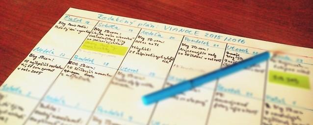 redakčný plán vianoce 2015